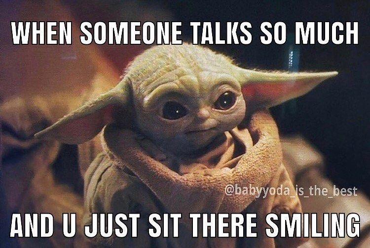 Baby Yodas Instagram Photo Please Make Them Stop Follow Babyyoda Dailyy Like Comment Share Comment Yoda Let Yoda Funny Yoda Meme Star Wars Memes