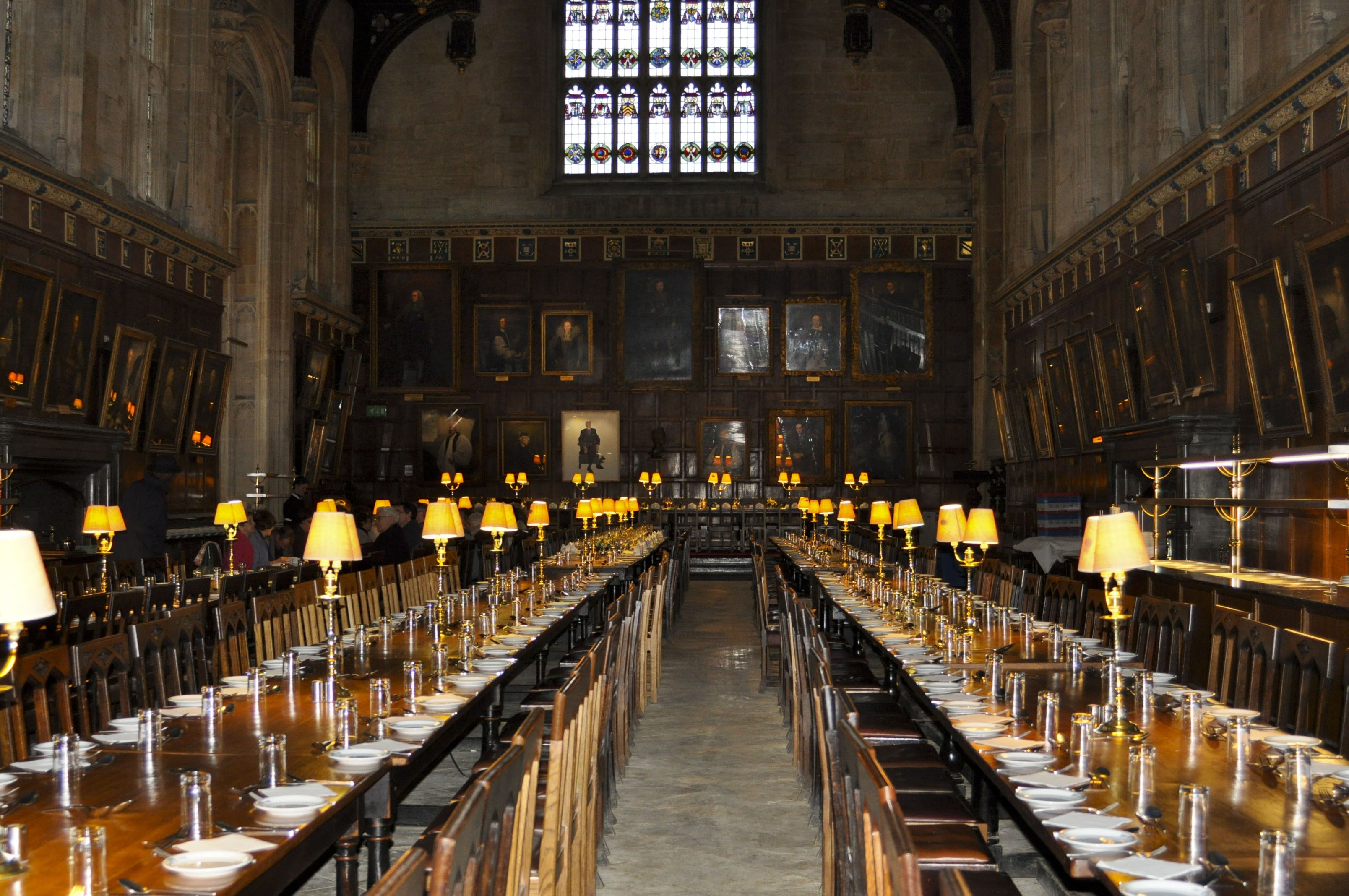The Great Hall Christ Church College Oxford Not Actually Used As A Set But Was Copied In One Of The Harry Potter Places Harry Potter Travel Movie Locations