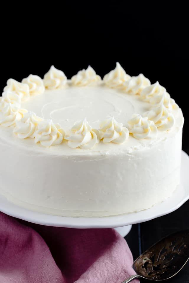 Marvelous Basic Vanilla Cake Recipe Vanilla Cake Recipe Basic Vanilla Funny Birthday Cards Online Amentibdeldamsfinfo