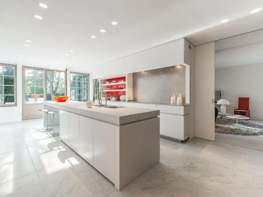 Open kitchens Villa Modern Villa Modern