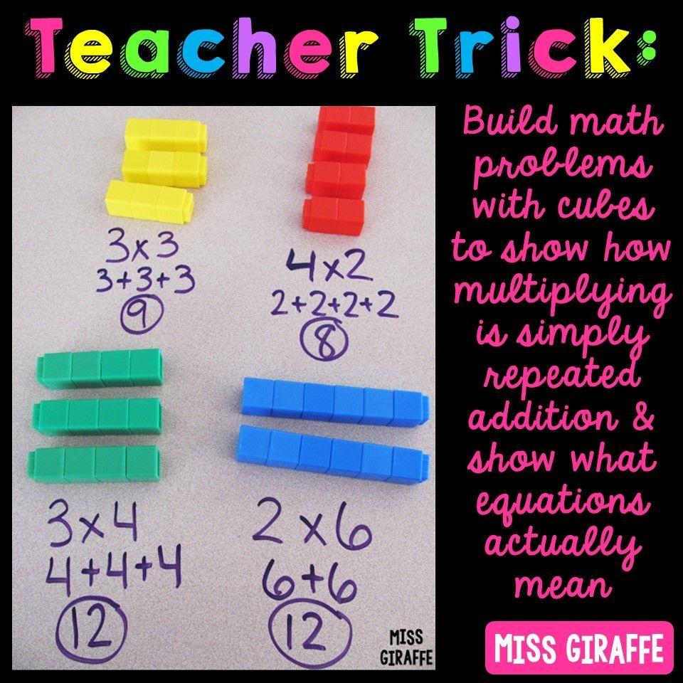 Teaching multiplication tricks Miss giraffe, Teaching