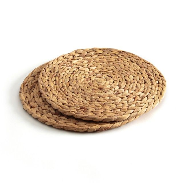 Solifa Set Of 2 Large Wicker Table Mats La Redoute