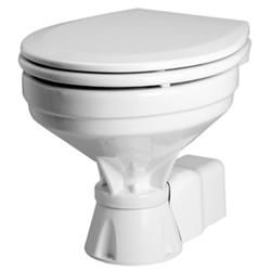 Johnson Pump Standard Electric Compact Macerator Style Toilet 12v 80 47435 01 Pumps Jet Pump Toilet