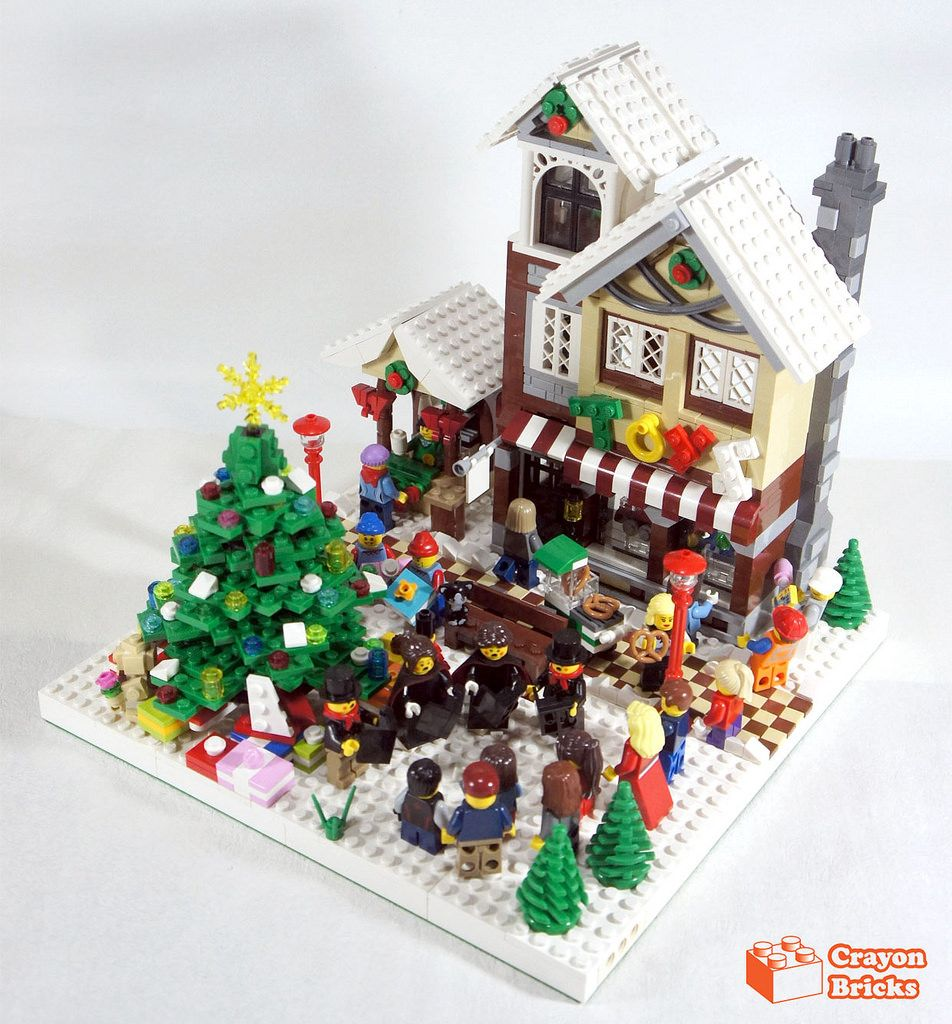 crayon winter village toy shop 1 lego lego christmas lego rh pinterest com