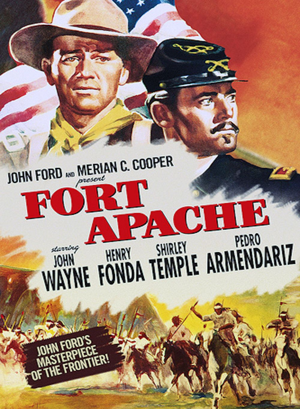 affiches posters et images de le massacre de fort apache. Black Bedroom Furniture Sets. Home Design Ideas