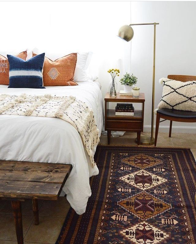 Rustic Vintage Bohemian Bedroom Decorations Ideas 30