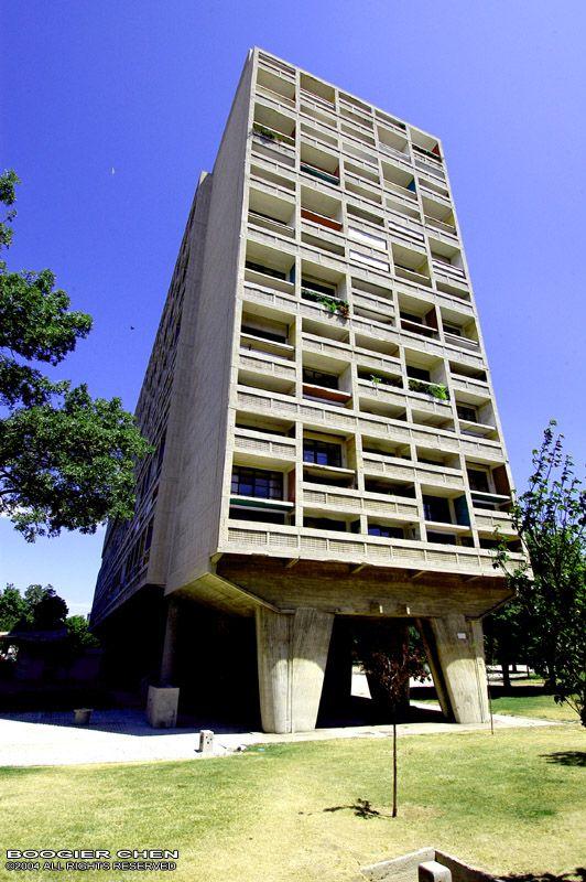 Le Corbusier Apartment Marseille France Design
