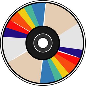 Compact Disk 04 Clip Art Compact Disc Free Clip Art