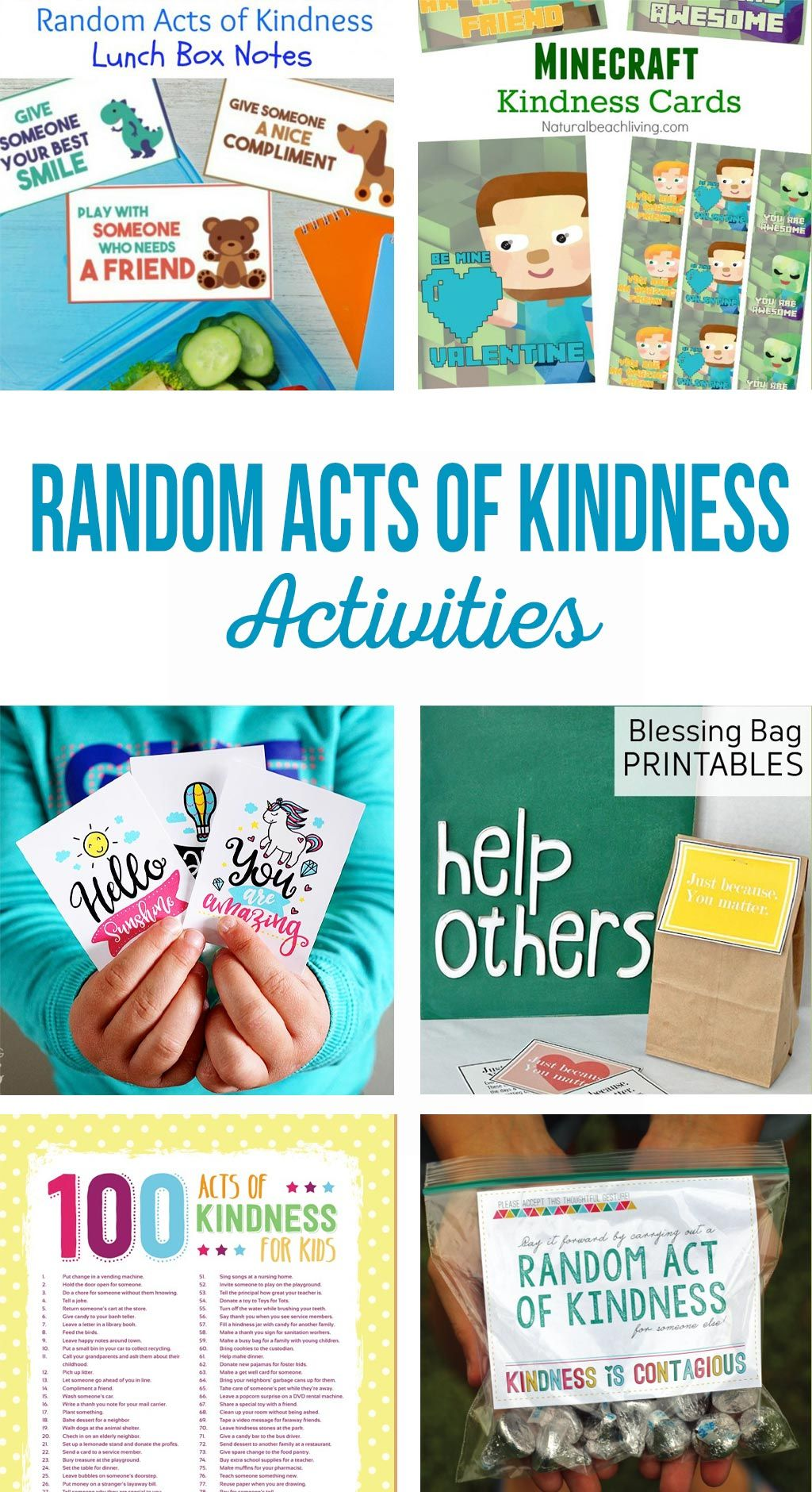 Random Acts of Kindness Activities   All Time Favorite