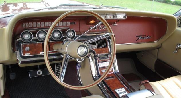 Autotrader Classics 1965 Ford Thunderbird Gold 8 Cylinder