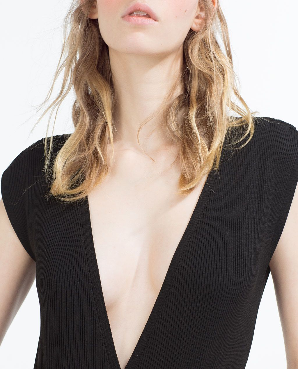 Image 1 of BODYSUIT WITH LOW CUT NECK AT THE FRONT AND BACK from Zara 3557e93c4