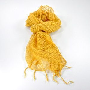 Jali Scarf Ochre now featured on Fab.