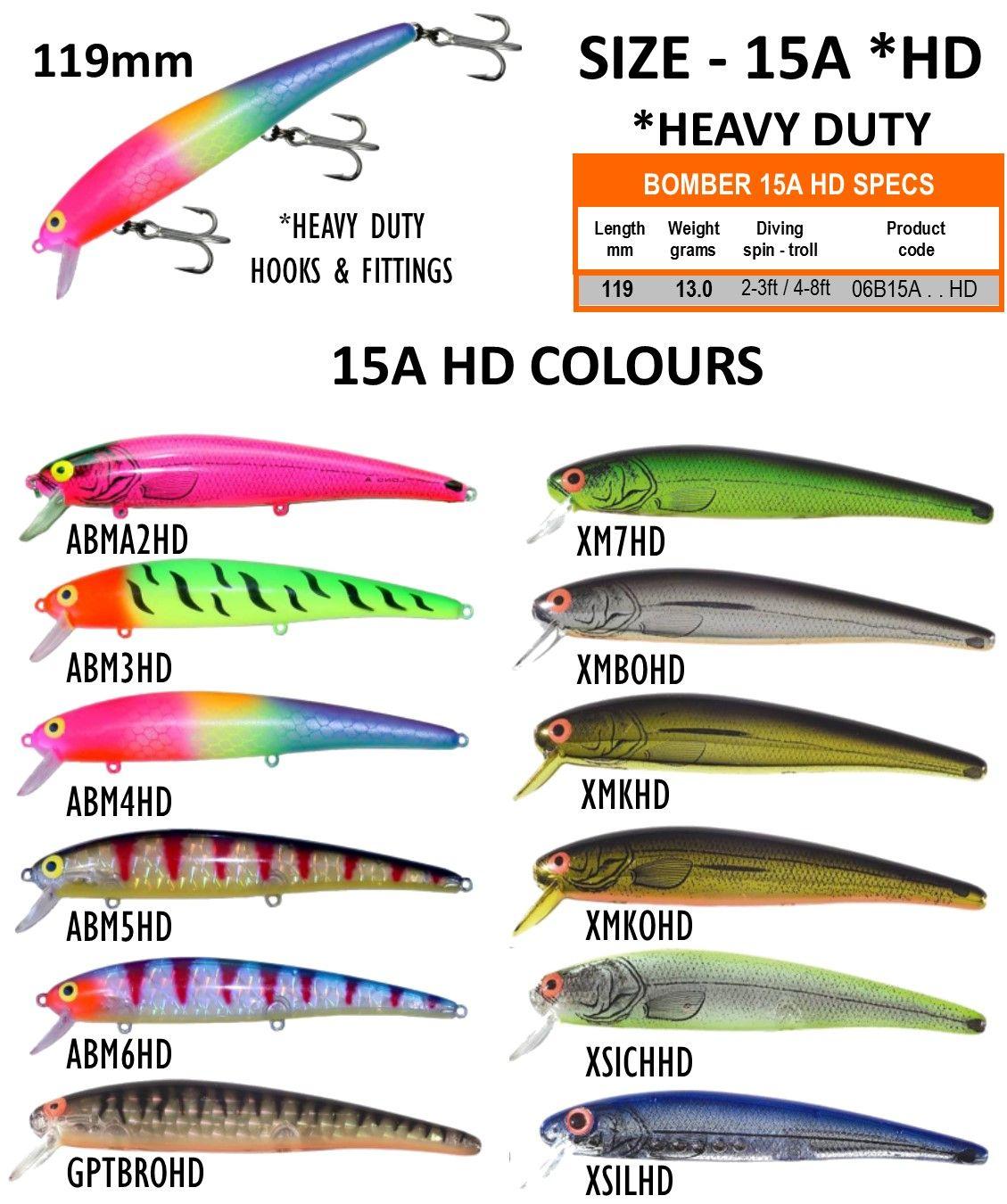 Australian Er Barra Hd Long A Color Chart