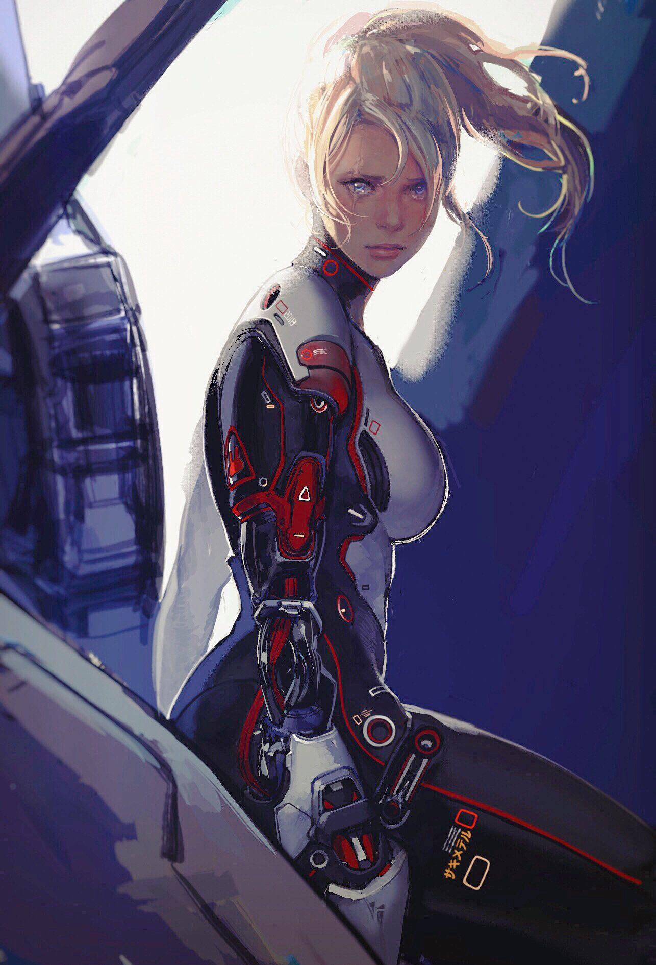 so cyberpunk girl future music