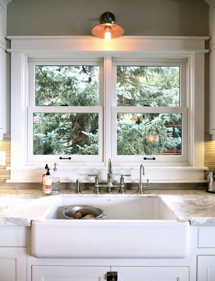 Leech Lake HouseKitchen Sinkjpg Kitchen Cabinet