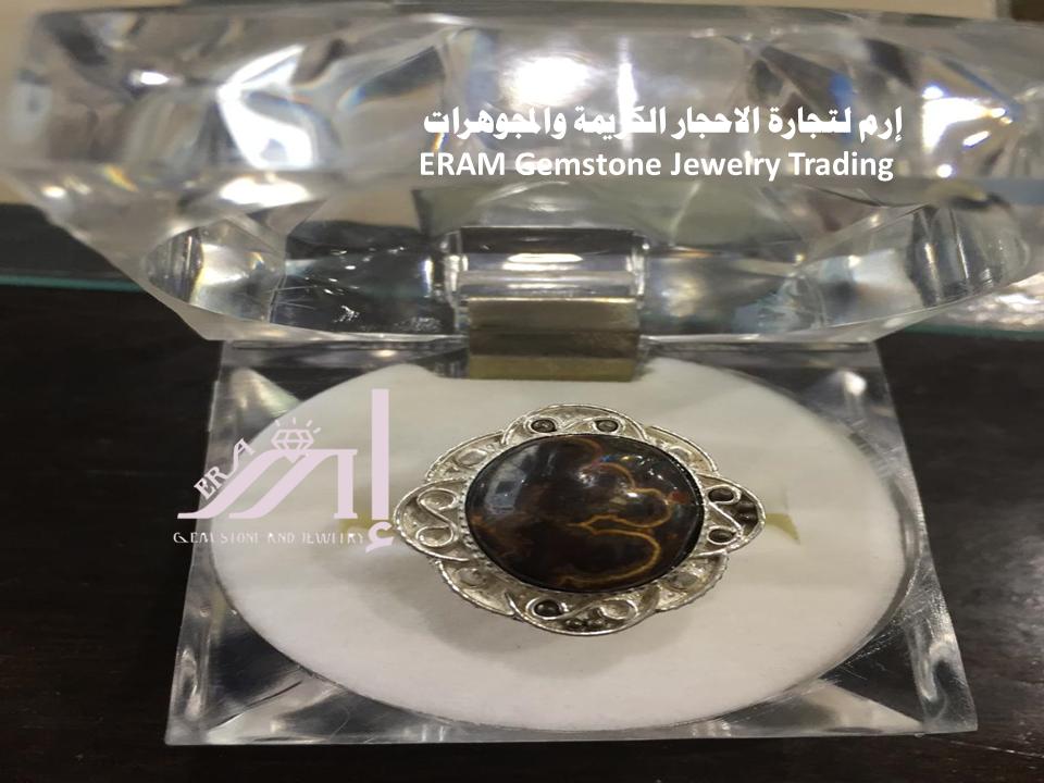 خاتم نسائي عقيق يمني نسائي داودي جلد الثعبان طبيعي 100 Agate Gemstone Jewelry Gemstones Jewelry