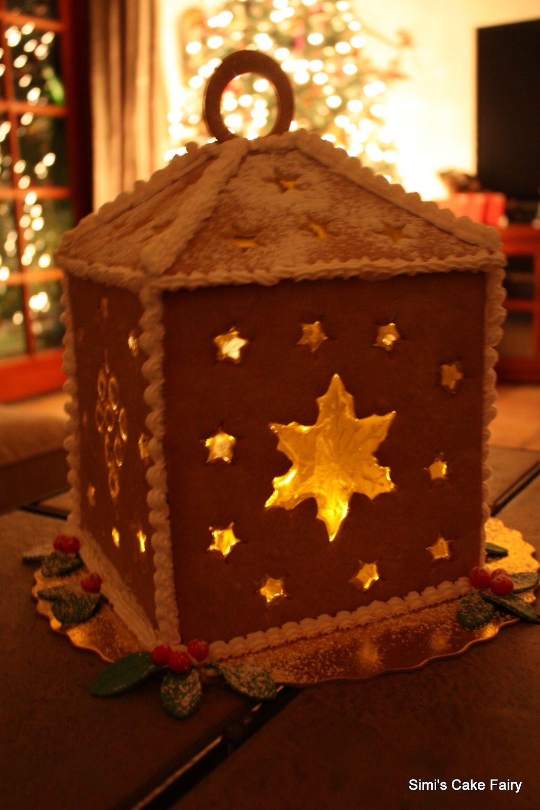 gingerbread lantern template  Gingerbread Lantern in 6 | Gingerbread cookies, Christmas ...