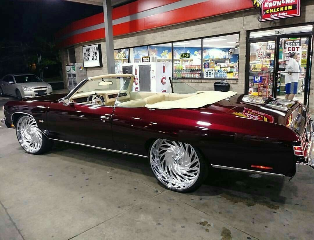 Ah Luv Me Some Chevy Impala Though This Too Is A Bit Much Lol