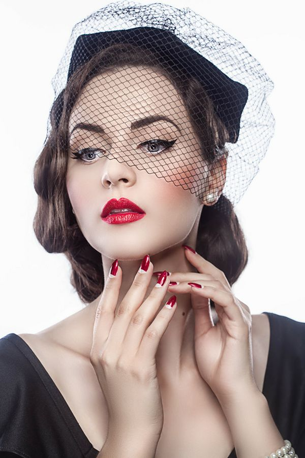 Vintage Siren - Model - Aida Đapo Make-up - Aida Celebic for Max Factor Photo & retouch - Nadja Berberovic-Dizdarevic