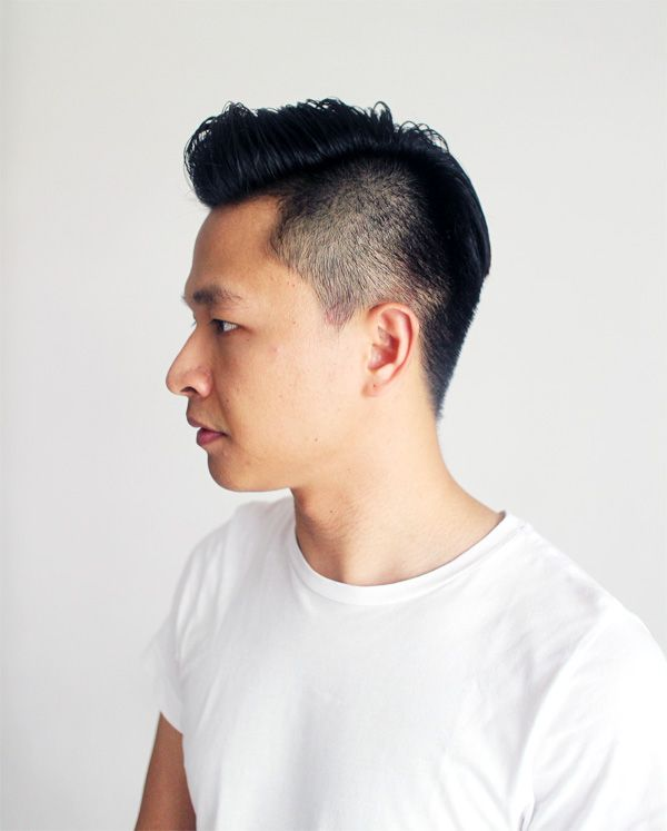 Asian Slick Back : asian, slick, Style, Slicked, Undercut, Fashion, Asian, Hairstyle,, Hairstyles,, Styles