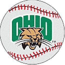 Fanmats Ohio University Bobcats Baseball-Shaped Mat