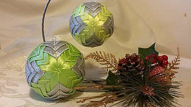 Decorations - Baubles green-blue - 4759163_