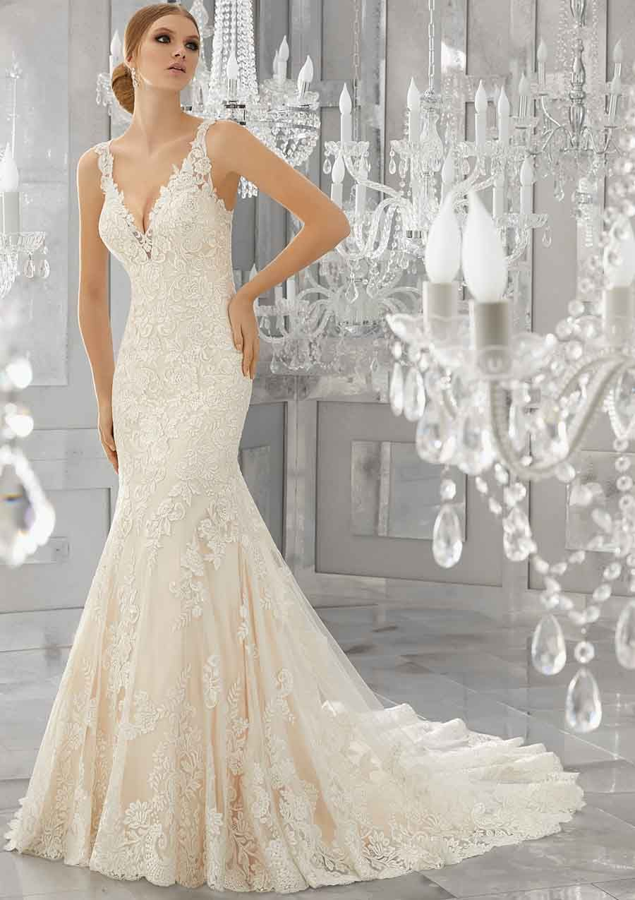 Model Trouwjurk.Kanten Trouwjurk Mori Lee Trouwjurk Model 8186 Wedding Inspo