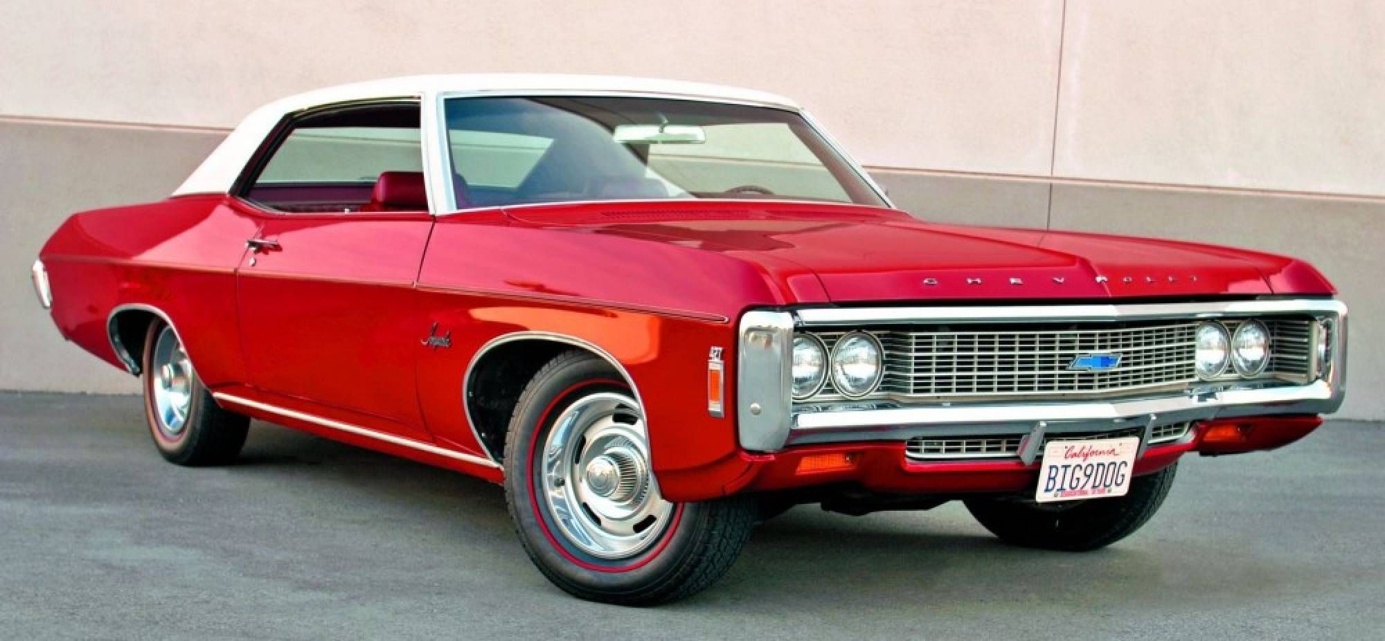 1969 chevrolet impala and full size cars bad a cars. Black Bedroom Furniture Sets. Home Design Ideas