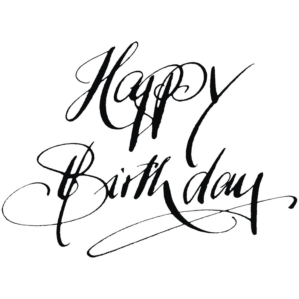 H Stempel Happy Birthday Geburtstagsworter Geburtstagsbilder
