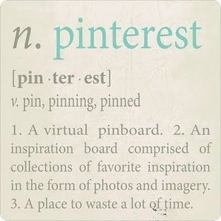 How do you waste time? Join Pinterest! You will love wasting