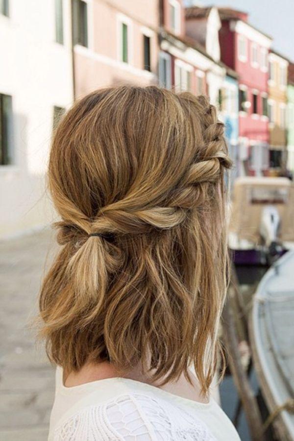 flechtfrisuren für kurze haare: die schönsten styles