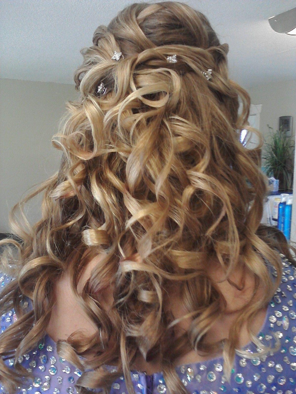 Pin By Desirae M Weeks On Mine Dance Hairstyles Graduation Hairstyles Long Hair Styles