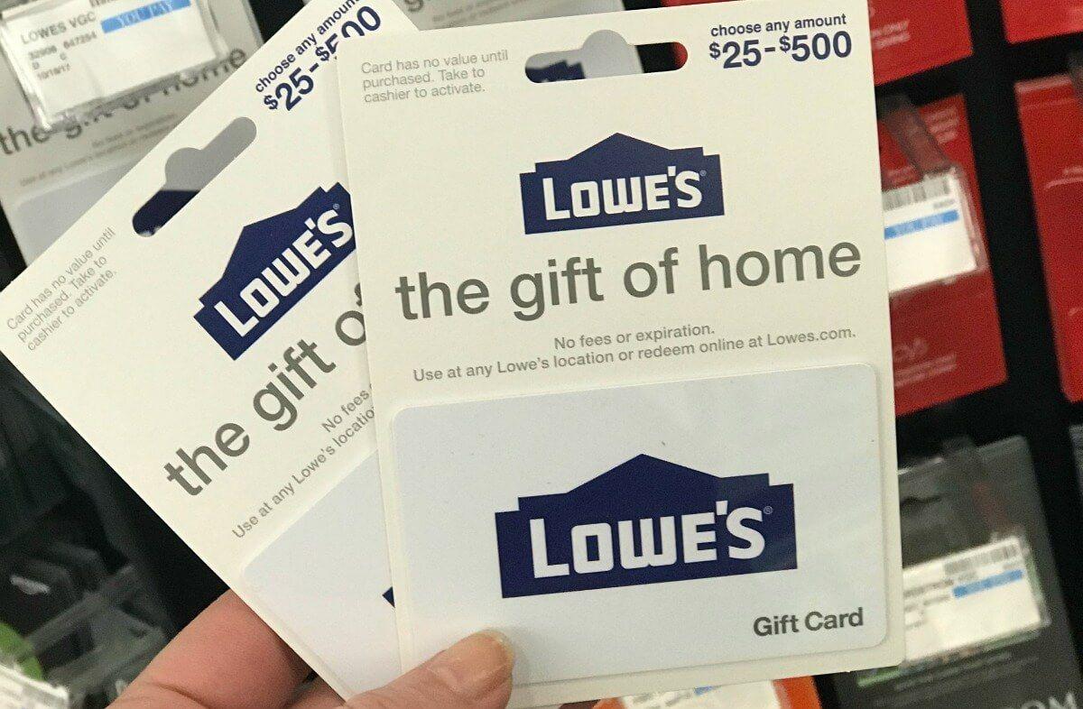 lowe's market gift card balance