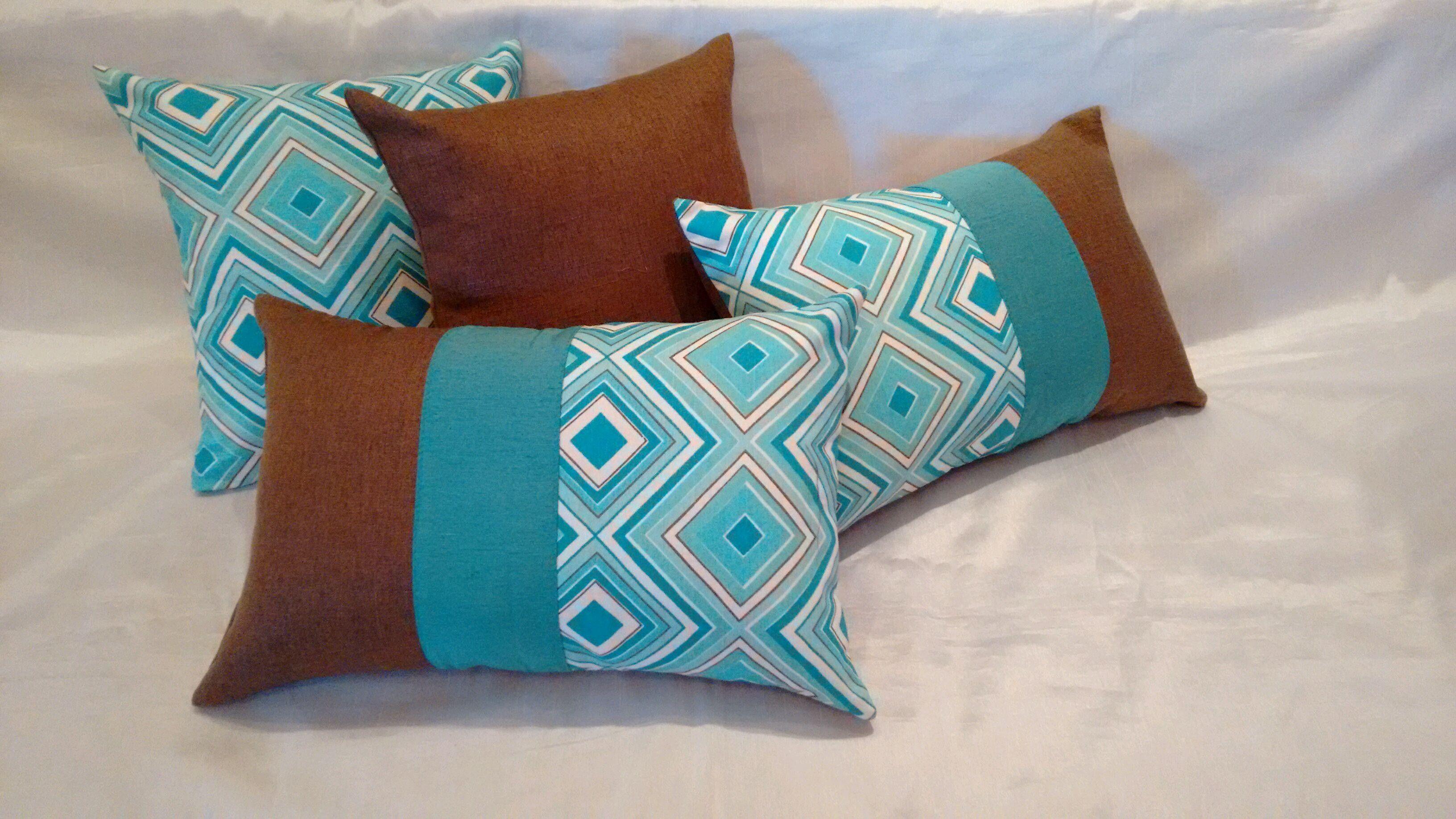 c1e434bb5 Bem-vindo ao Design Of Kit almofadas decorativas composê azul turquesa 4  Pcs e preço artigo. Nesta publicação