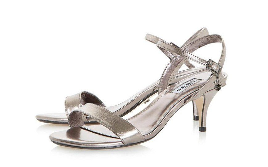 1fbe20521d1 Wedding Ideas By Colour  Metallic Wedding Shoes - Elegant silver ...