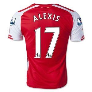 best sneakers d41a6 215b4 Alexis Sanchez ARSENAL jersey | Wear | Arsenal jersey ...