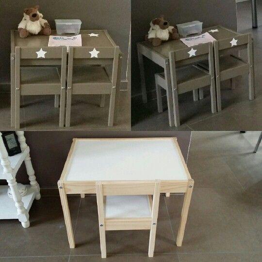 Customisation De La Table Pour Enfant Ikea Customiser Table Table Enfant Chambre Enfant