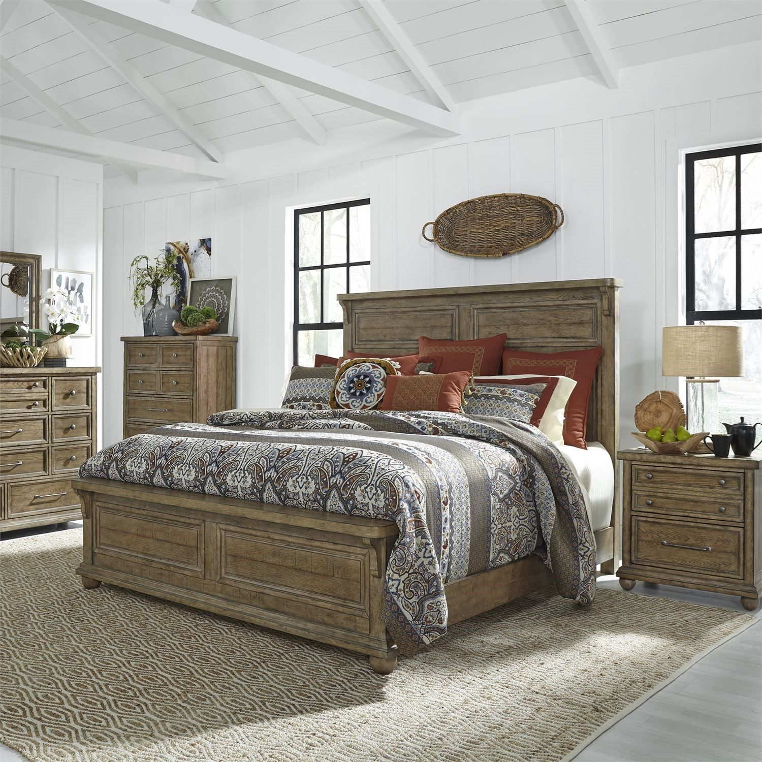 Harvest Home King Bedroom Group By Liberty Furniture With Images
