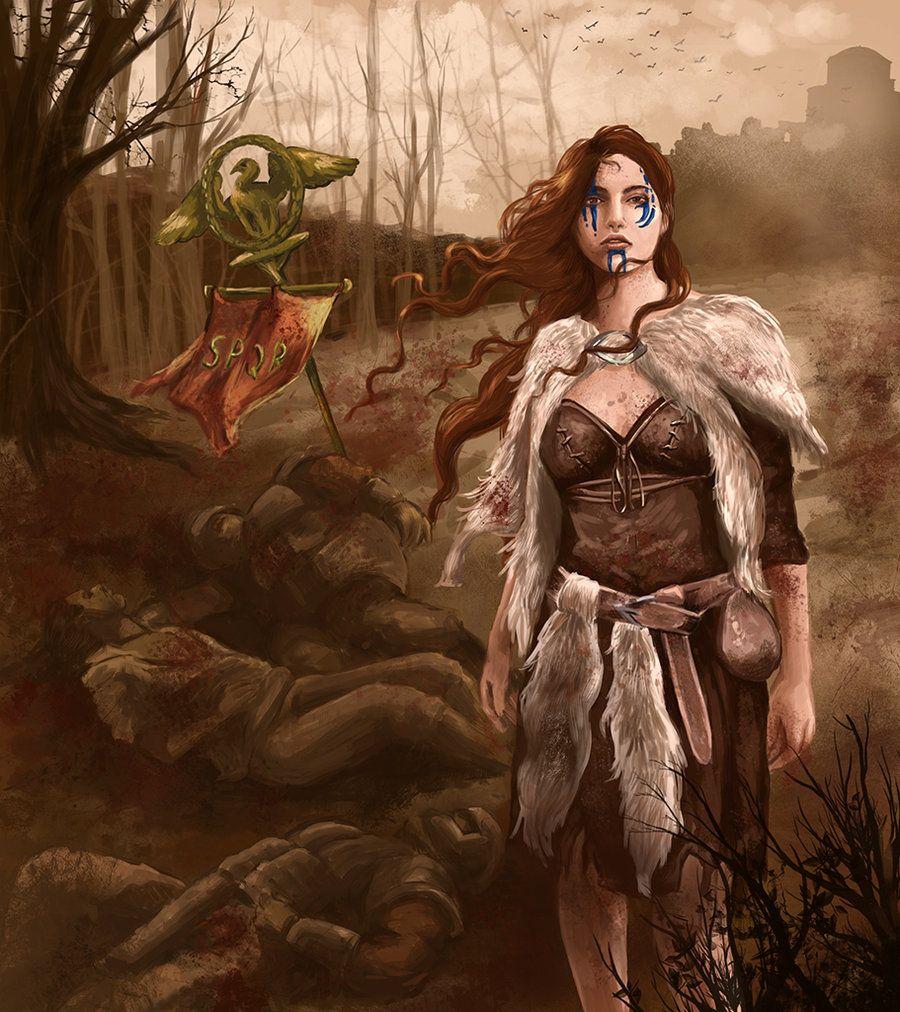 757a4922a Boudica, the bringer of victory by nathaliagomes.deviantart.com on @ deviantART