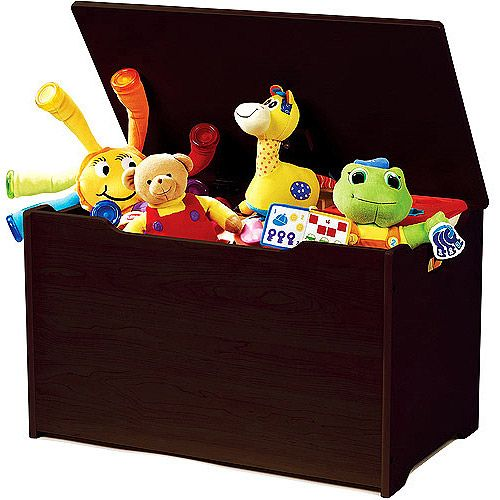 Tot Tutors Classic Toy Box Walmart Com Personalised Wooden Toy Box Toy Boxes Kids Toy Boxes