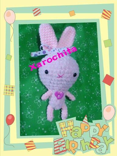 Bunny, amigurumi,  xarochita,  conejo