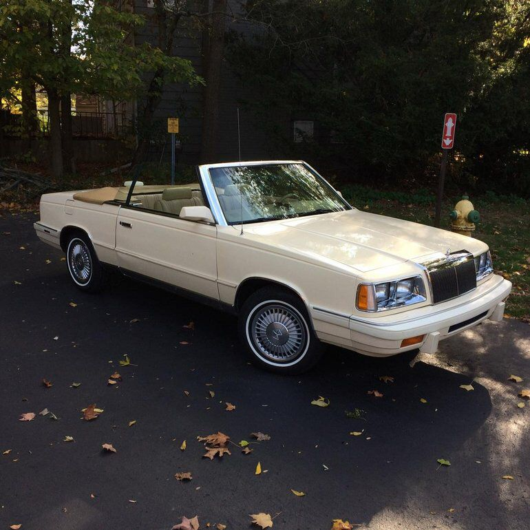 1986 Chrysler Lebaron Convertible Chrysler Lebaron Chrysler