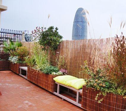 Madera y ca izo para cubrir terrazas terrazas madera y for Tejados de madera y canizo