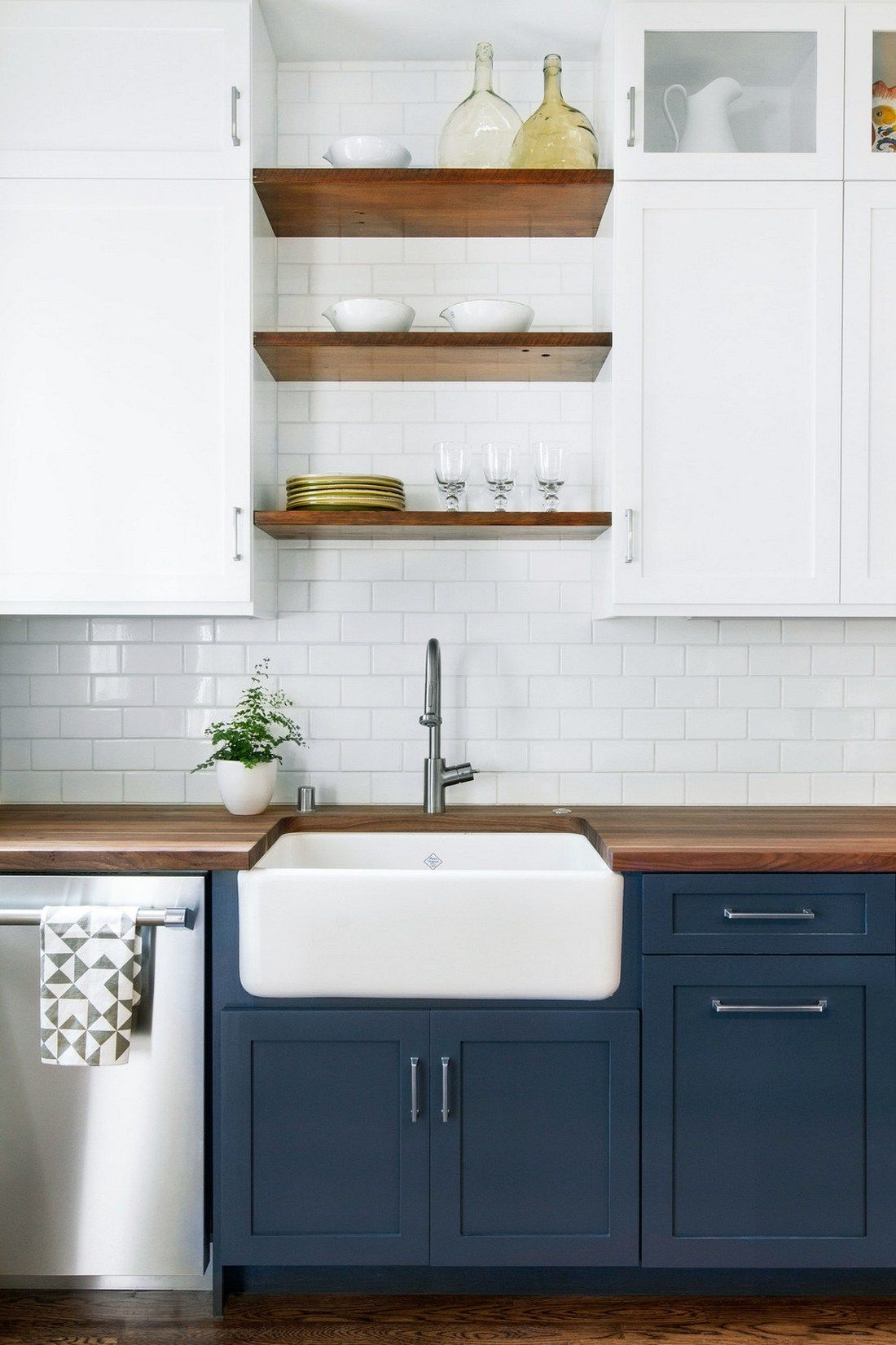 123 cozy and chic farmhouse kitchen cabinets