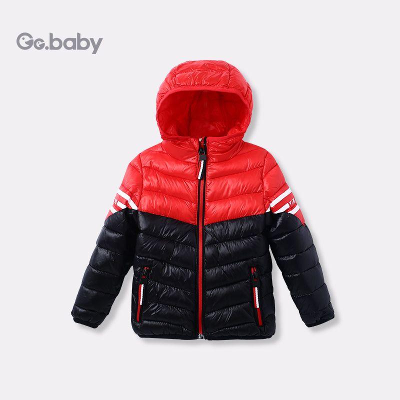 9dc93c1c1e83 Zipper Hooded Winter Jacket For A Boy Children s Jackets Kids Coats ...