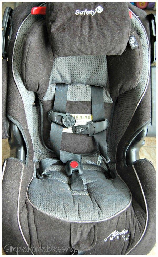 clean a car seat - Ask Anna | Organize and clean | Pinterest ...