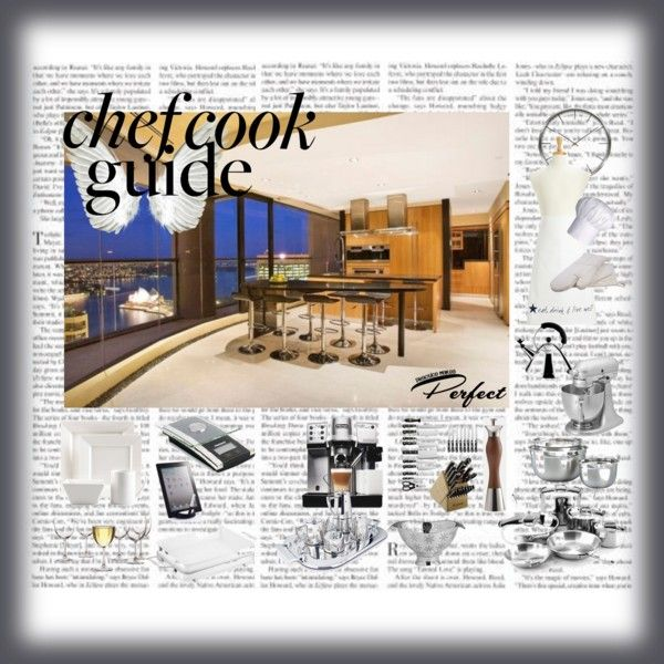 """""""The ideal chef's kitchen!"""" by mariajalil on Polyvore"""