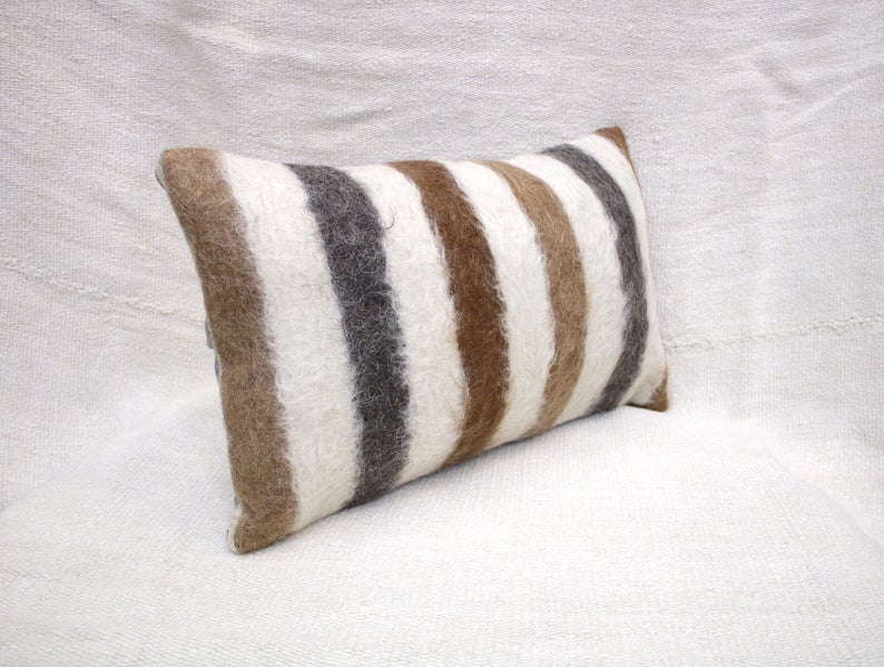 "Best Kilim Pillow Cover 12""X20"" Decorative Pillow Handmade 400 x 300"