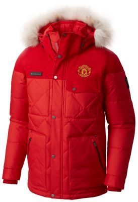 Men s Barlow Pass 550 TurboDown™ Quilted Jacket - Manchester United ... ef615964a9