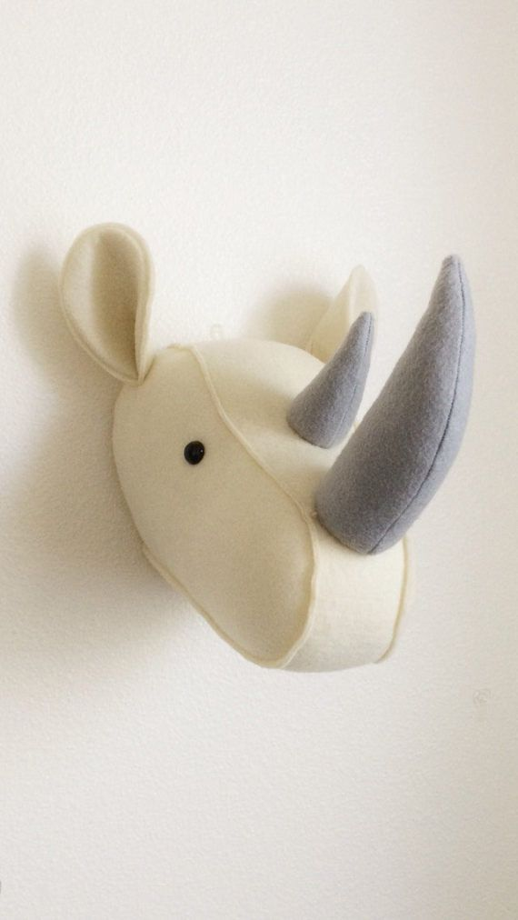 Faux Rhino Head Wall Mount Rhino Head Wall Mount Faux Rhino